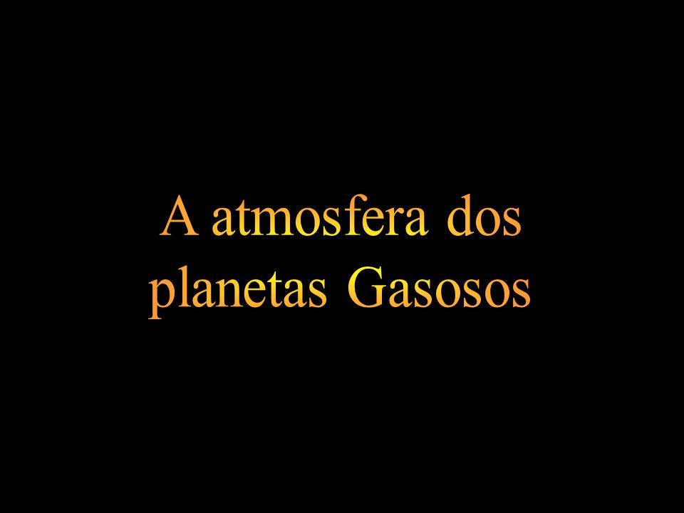 A atmosfera dos planetas Gasosos