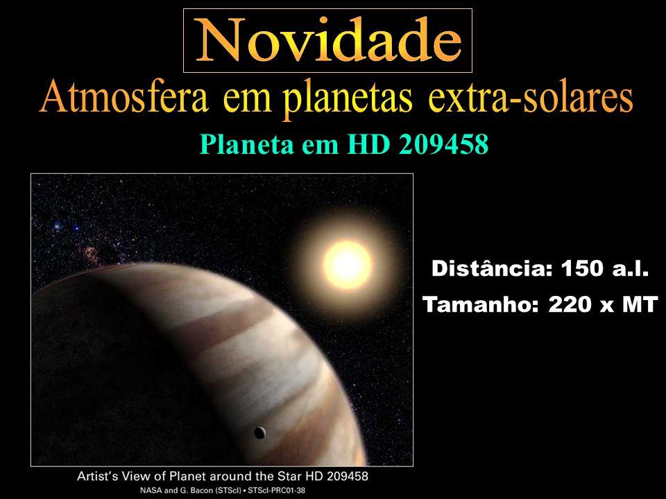 Atmosfera em planetas extra-solares