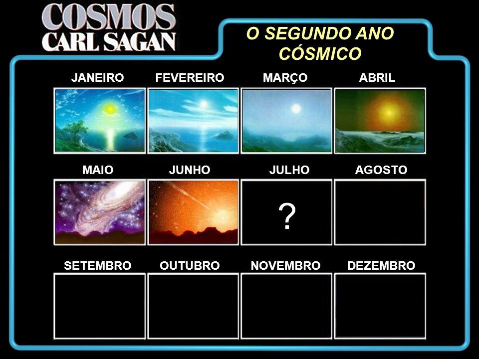 O SEGUNDO ANO CÓSMICO JANEIRO FEVEREIRO MARÇO ABRIL MAIO JUNHO JULHO