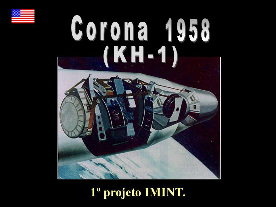 Corona 1958 (KH-1) 1º projeto IMINT.