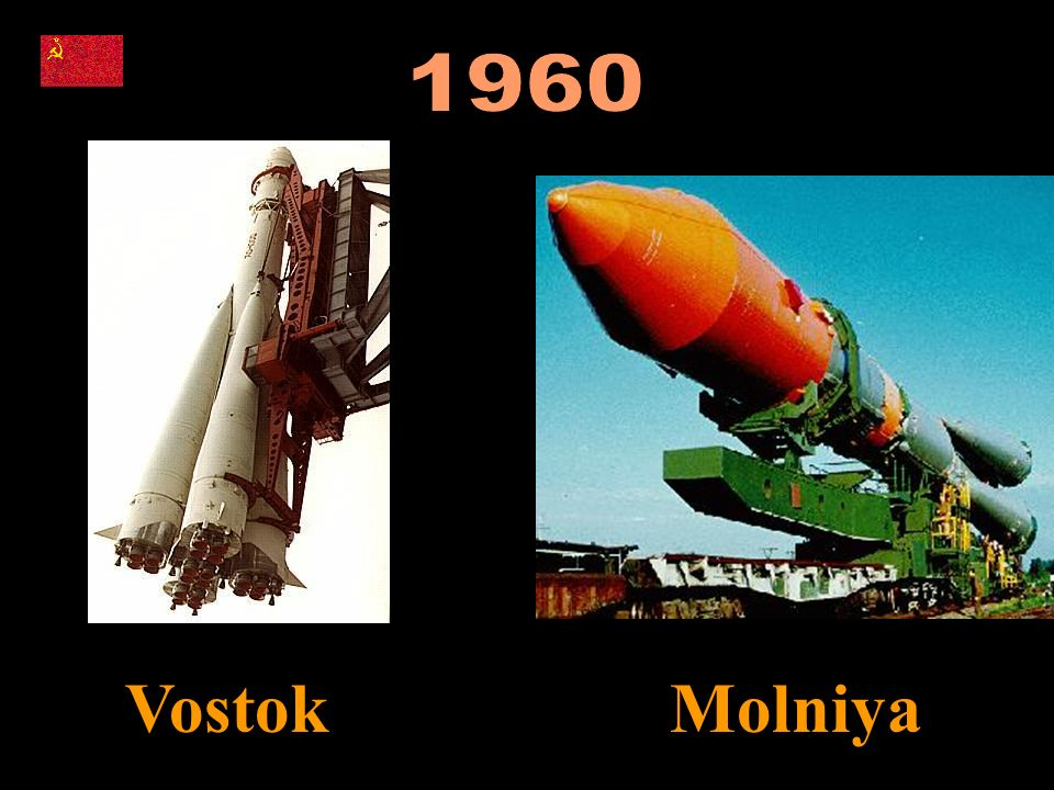 1960 Vostok Molniya