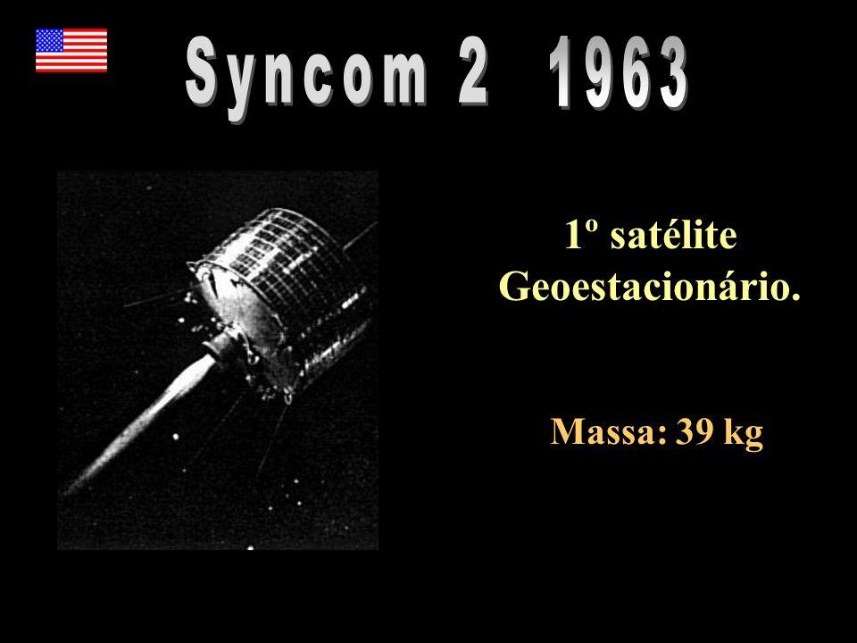 1º satélite Geoestacionário.