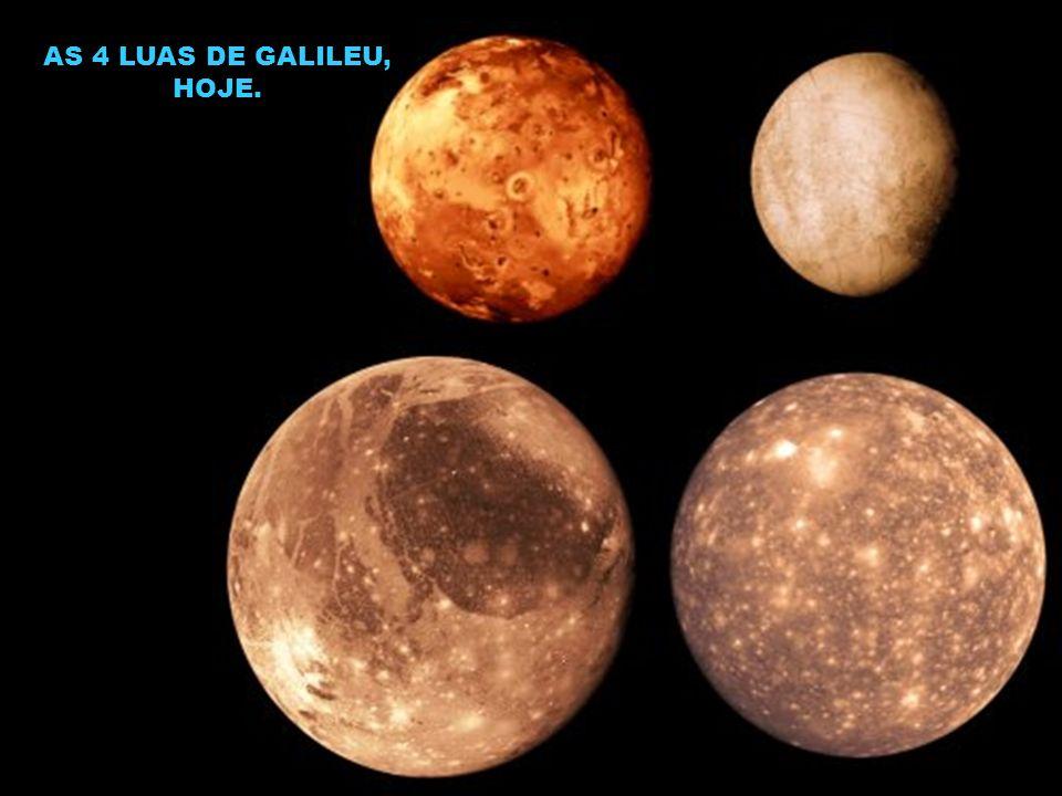 AS 4 LUAS DE GALILEU, HOJE.