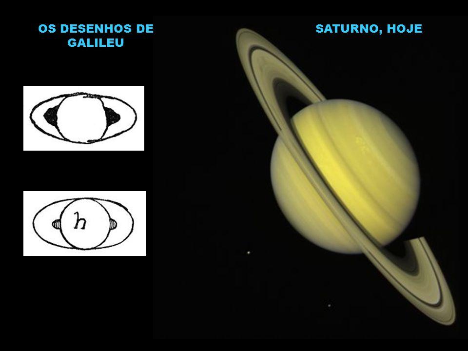 OS DESENHOS DE GALILEU SATURNO, HOJE