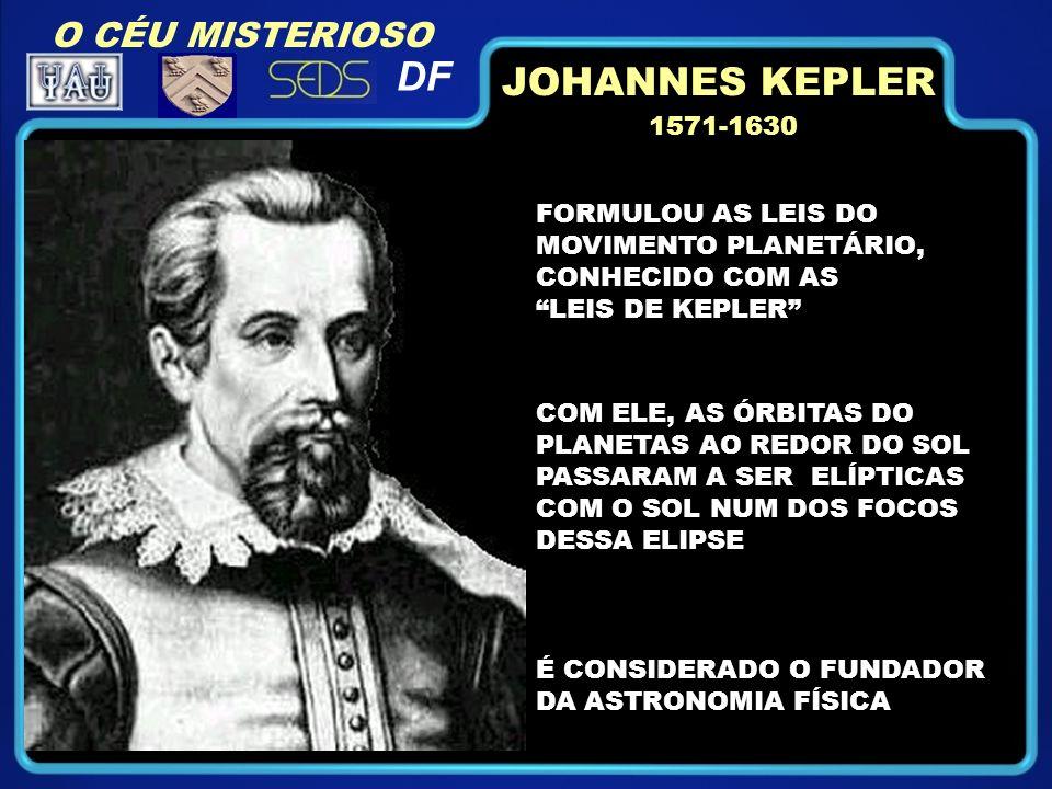 DF JOHANNES KEPLER O CÉU MISTERIOSO 1571-1630