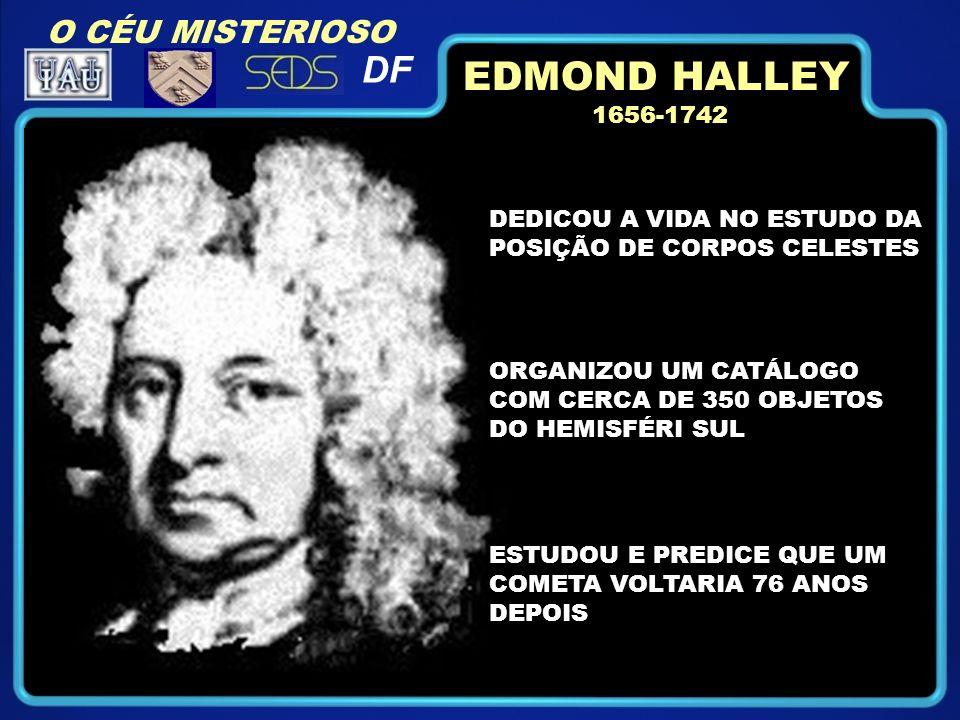EDMOND HALLEY DF O CÉU MISTERIOSO 1656-1742