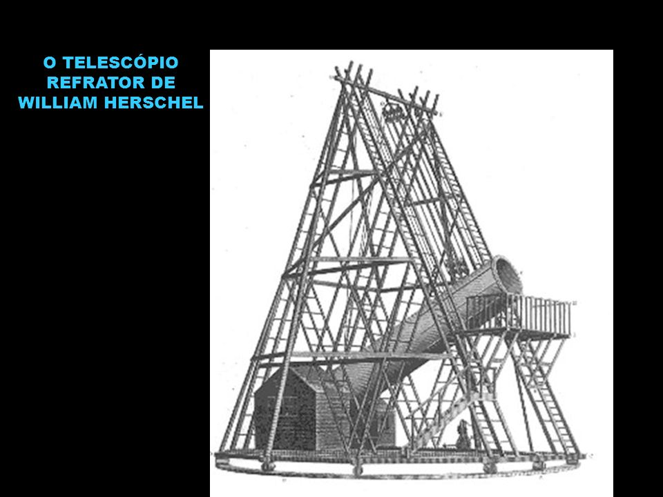 O TELESCÓPIO REFRATOR DE WILLIAM HERSCHEL