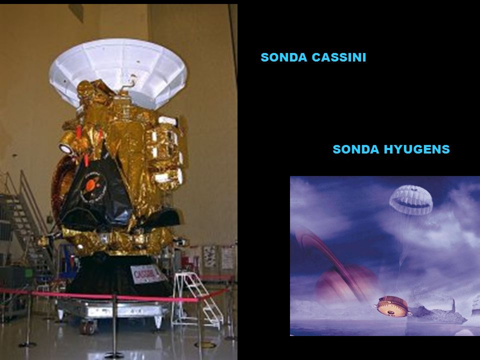 SONDA CASSINI SONDA HYUGENS