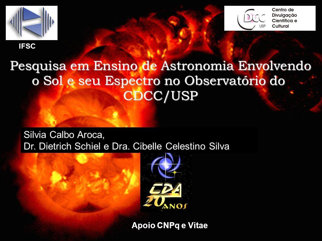 Pesquisa em Ensino de Astronomia Envolvendo
