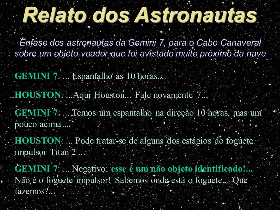 Relato dos Astronautas