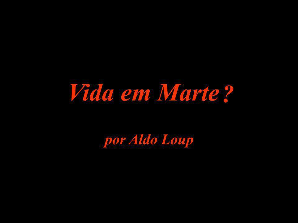 Vida em Marte por Aldo Loup