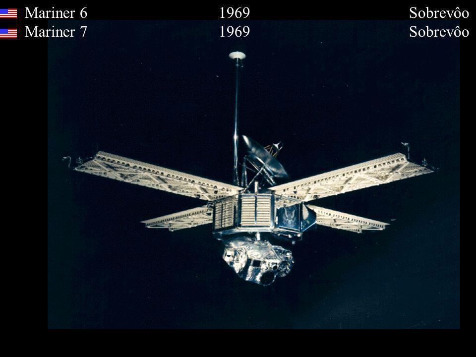 Mariner 6 1969 Sobrevôo