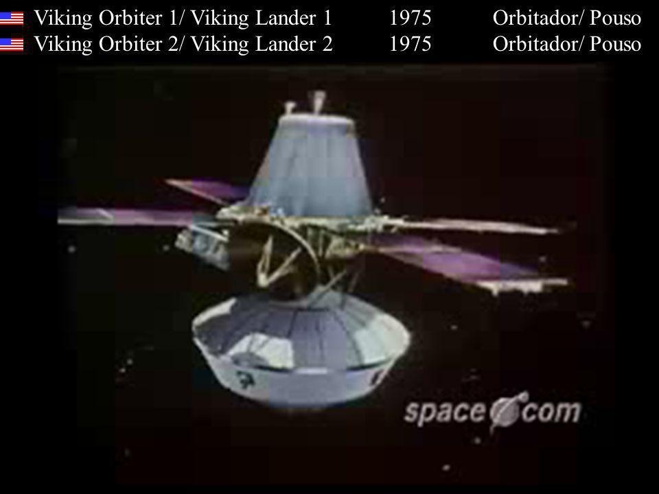Viking Orbiter 1/ Viking Lander 1 1975 Orbitador/ Pouso