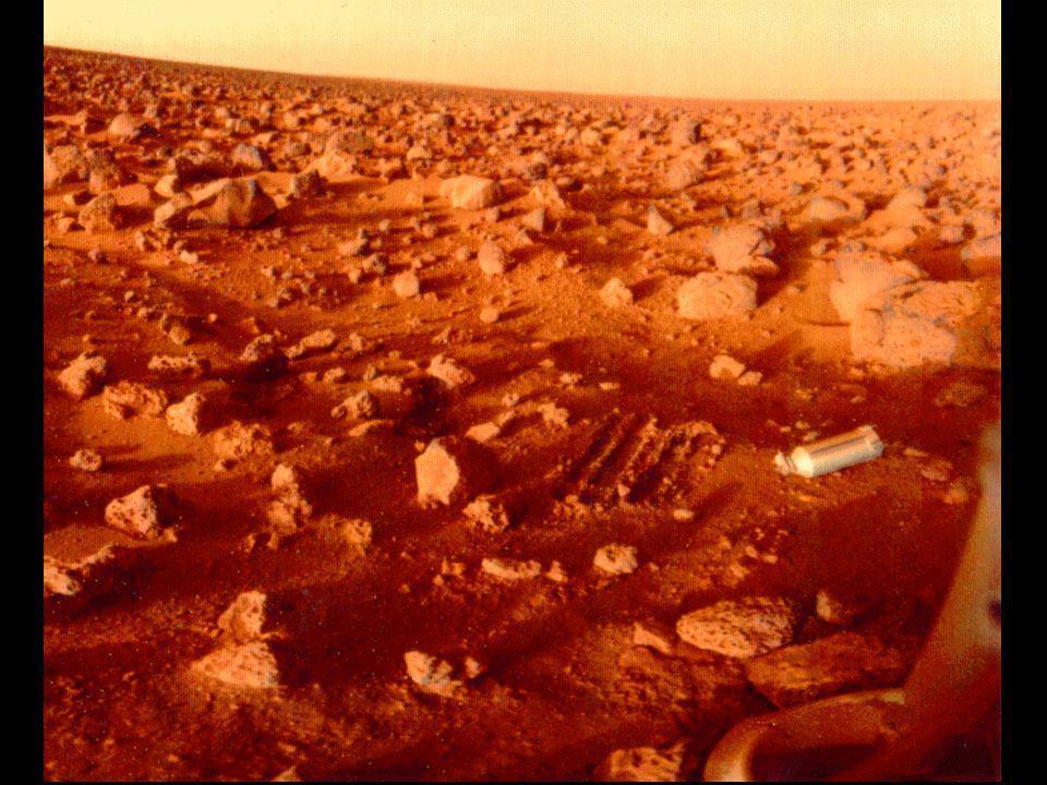 Local de pouso da Viking 2 Lander, localizado bem mais para o norte