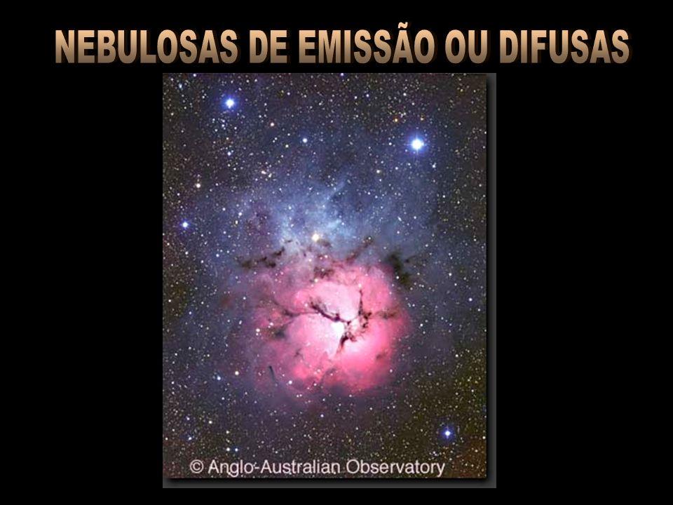 NEBULOSAS DE EMISSÃO OU DIFUSAS