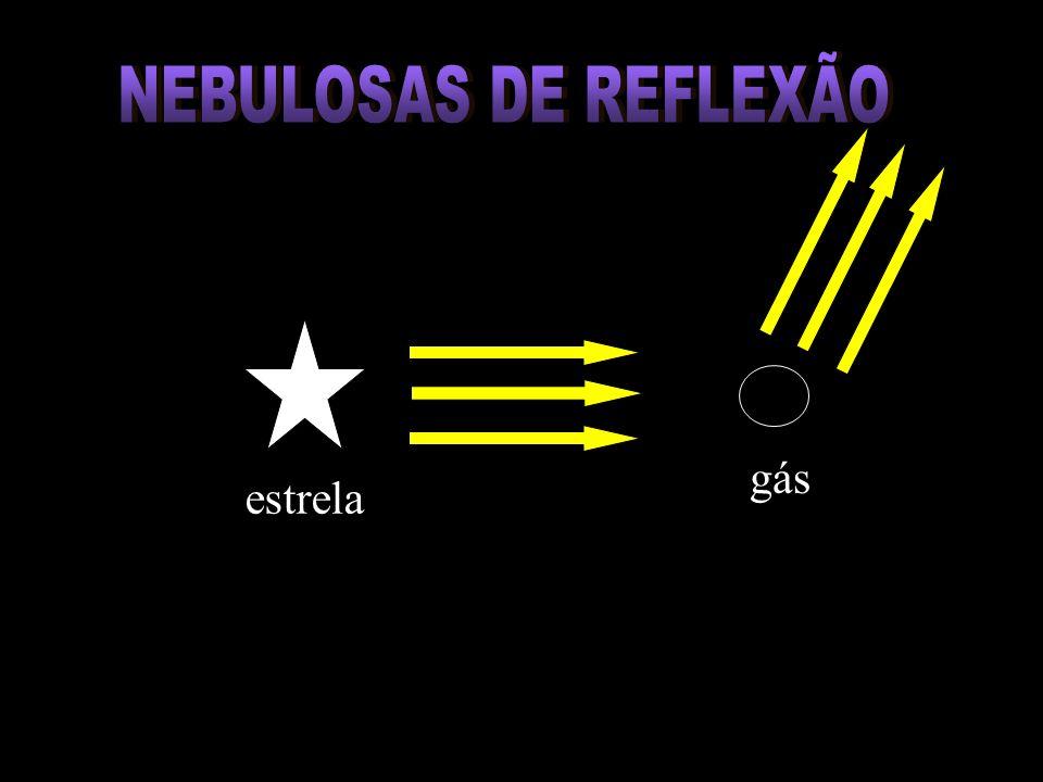NEBULOSAS DE REFLEXÃO gás estrelaa
