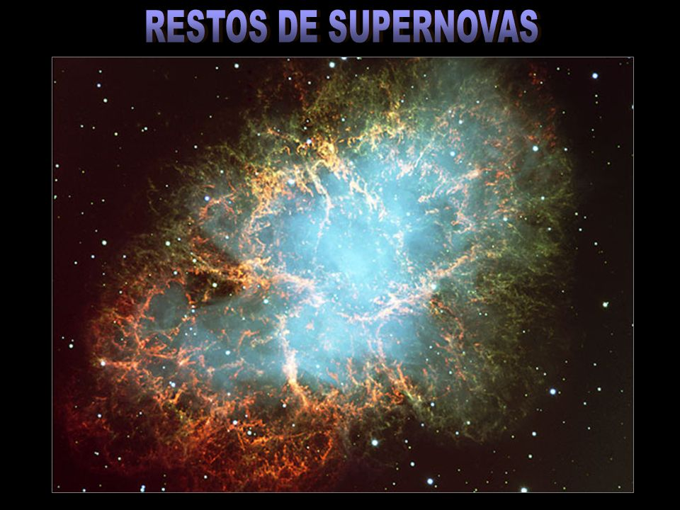 RESTOS DE SUPERNOVAS