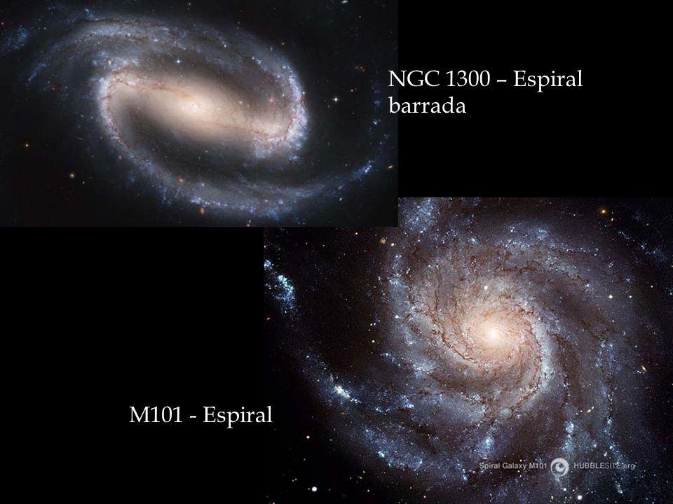 NGC 1300 – Espiral barrada M101 - Espiral