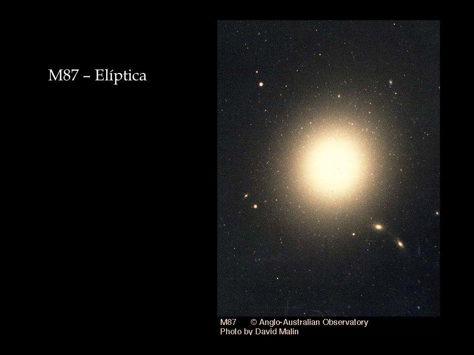 M87 – Elíptica