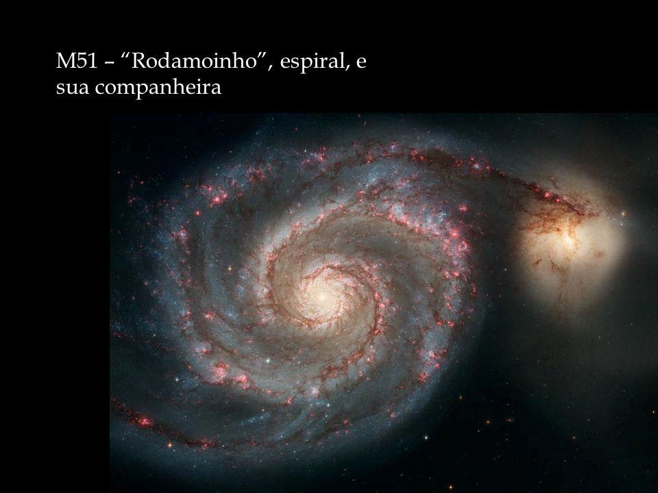 M51 – Rodamoinho , espiral, e sua companheira
