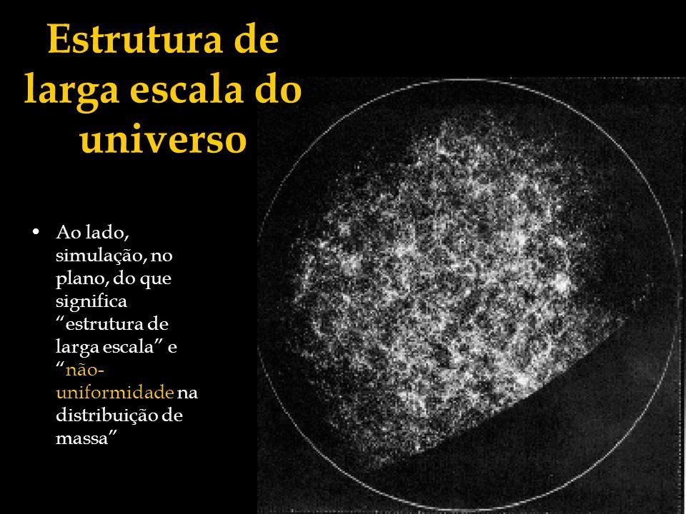 Estrutura de larga escala do universo