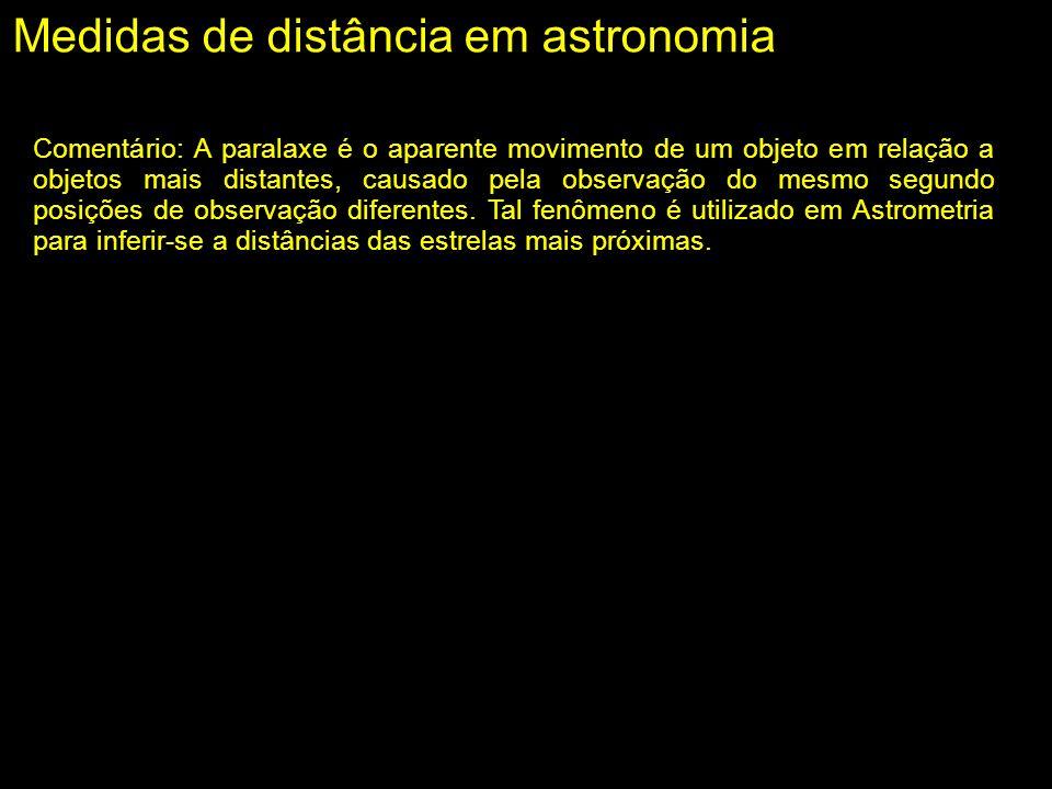 Medidas de distância em astronomia