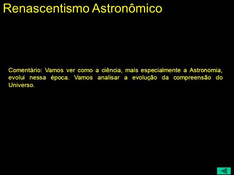 Renascentismo Astronômico