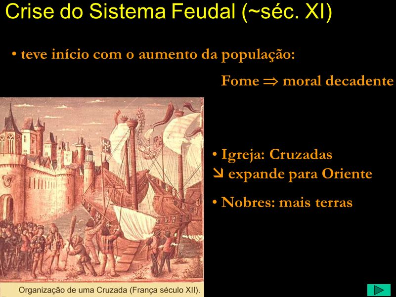 Crise do Sistema Feudal (~séc. XI)