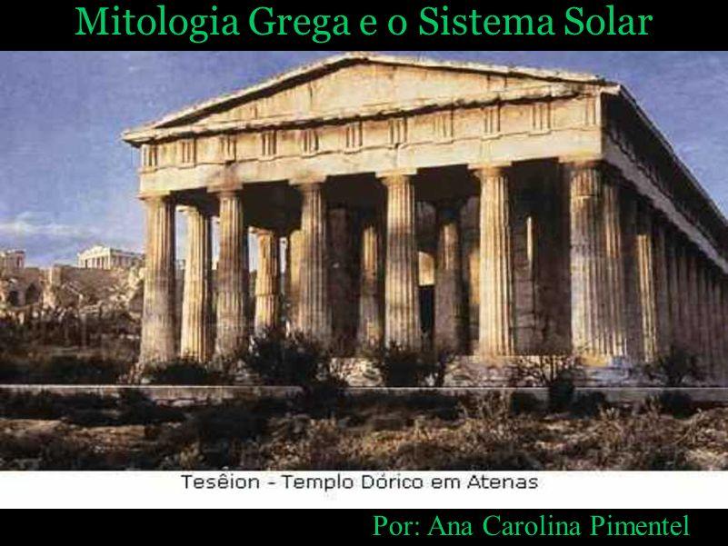Mitologia Grega e o Sistema Solar
