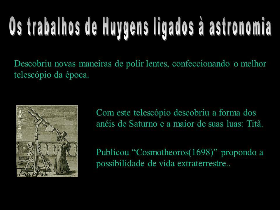 Os trabalhos de Huygens ligados à astronomia
