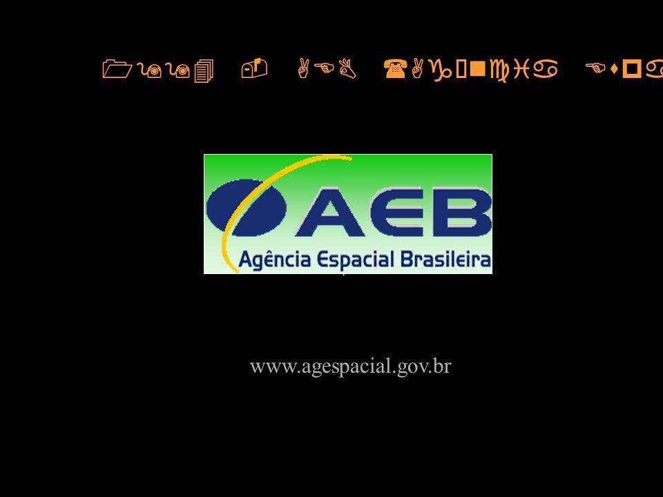 1994 - AEB (Agência Espacial Brasileira)