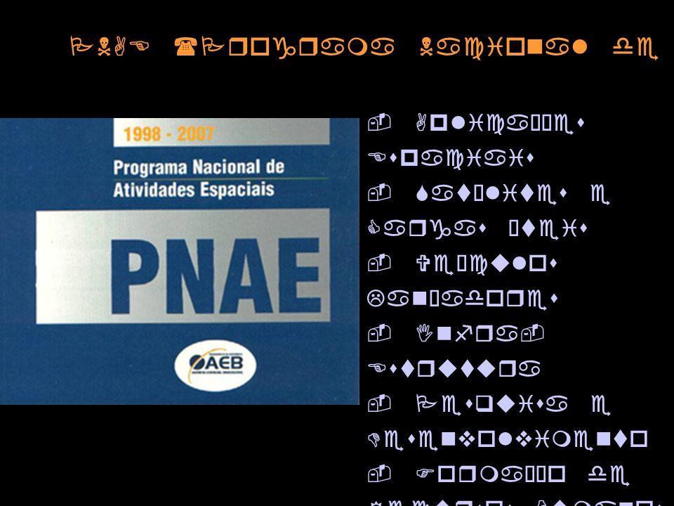 PNAE (Programa Nacional de Atividades Espaciais)