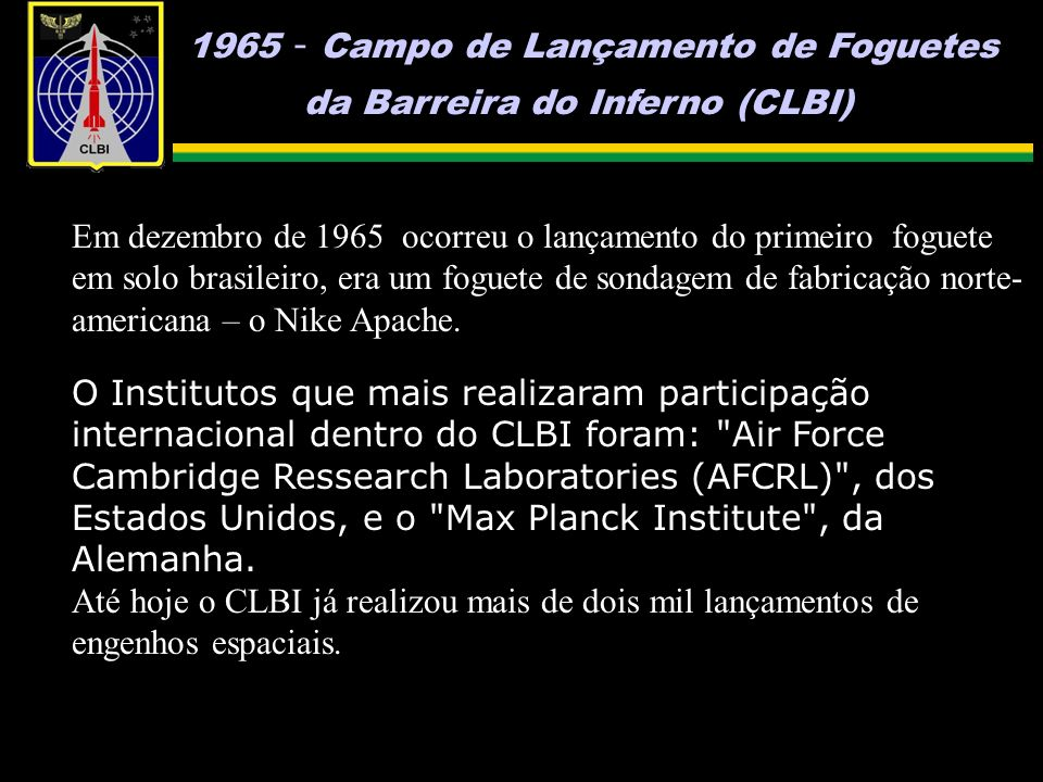1965 - Campo de Lançamento de Foguetes