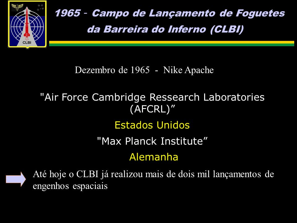 Air Force Cambridge Ressearch Laboratories (AFCRL)