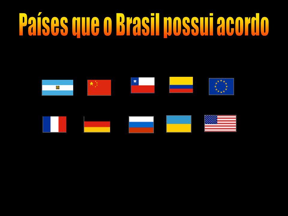 Países que o Brasil possui acordo