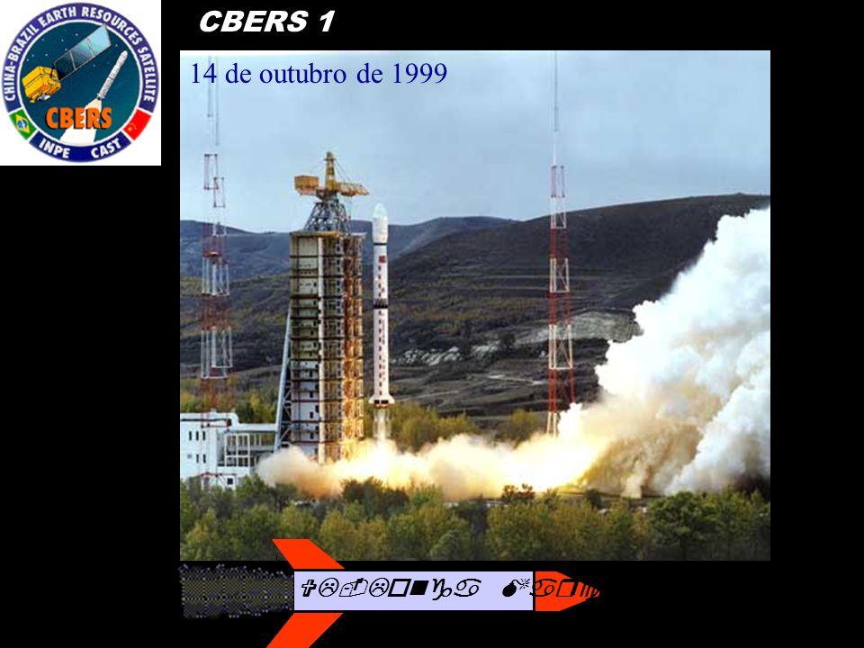 CBERS 1 14 de outubro de 1999 VL-Longa Marcha 4B