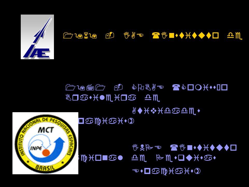 1969 - IAE (Instituto de Atividades Espaciais)