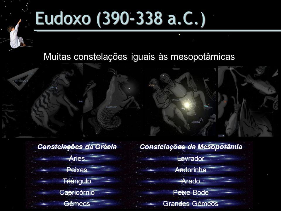 Constelações da Grécia Constelações da Mesopotâmia