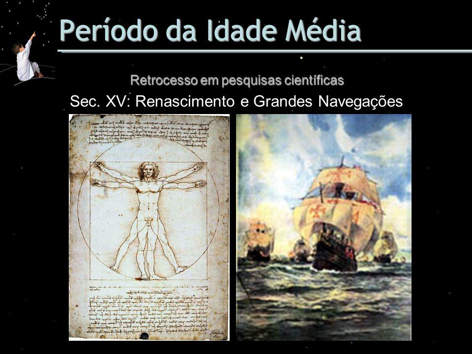 Período da Idade Média Sec. XV: Renascimento e Grandes Navegações