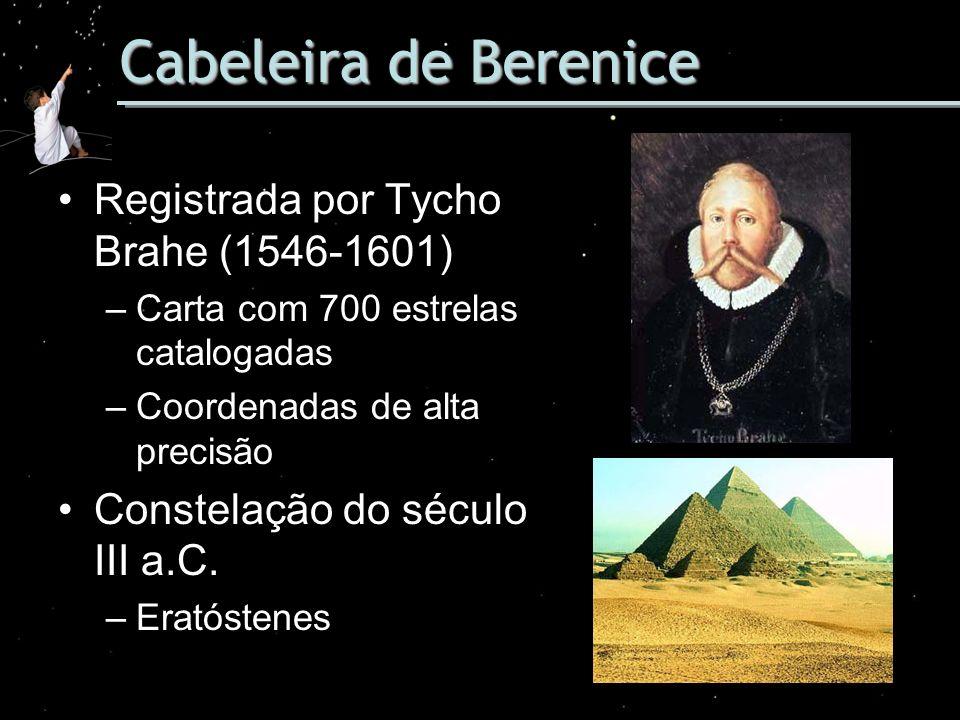 Cabeleira de Berenice Registrada por Tycho Brahe (1546-1601)