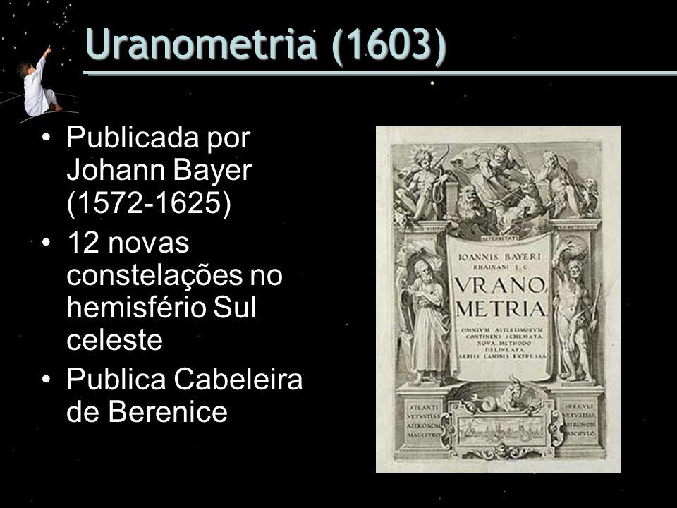 Uranometria (1603) Publicada por Johann Bayer (1572-1625)