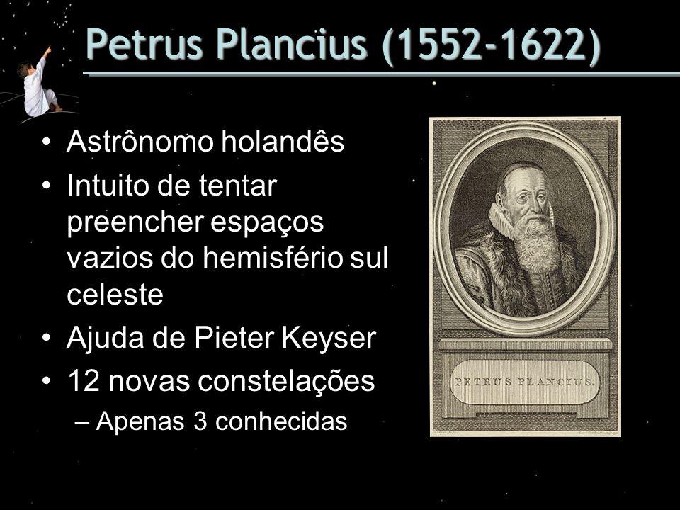 Petrus Plancius (1552-1622) Astrônomo holandês
