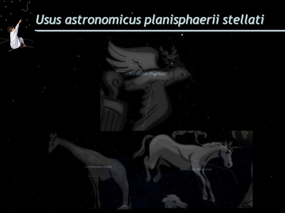 Usus astronomicus planisphaerii stellati