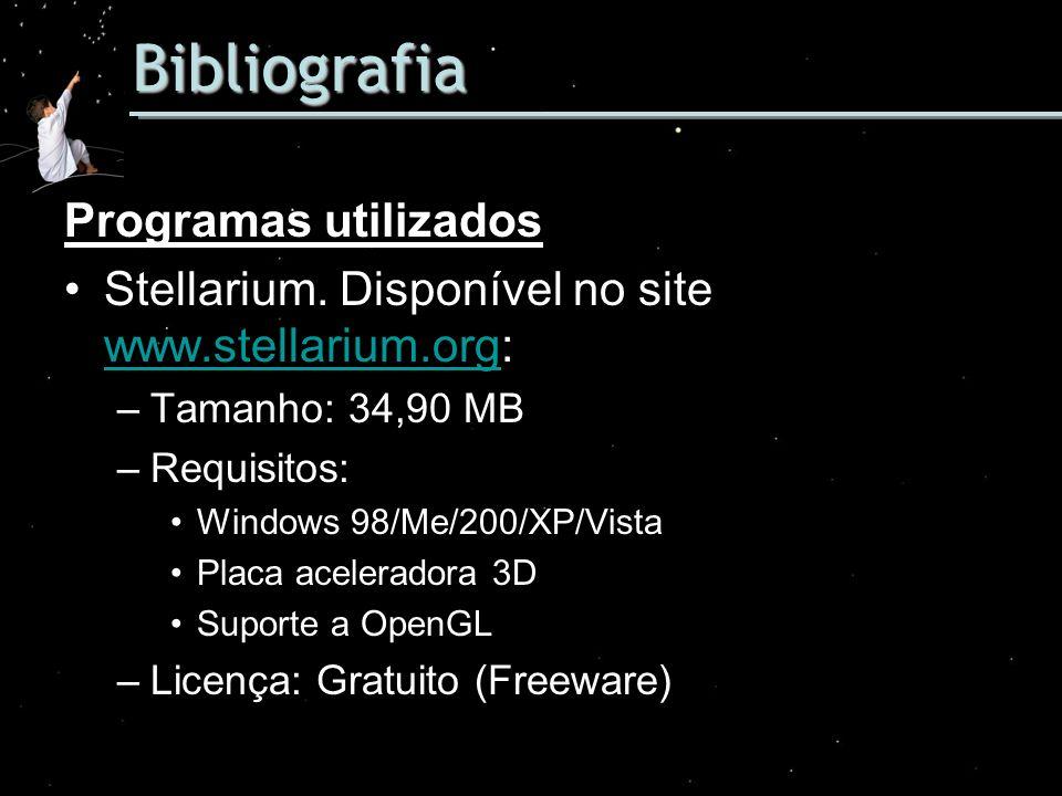 Bibliografia Programas utilizados