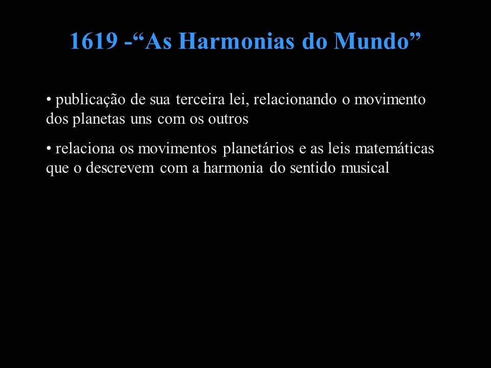 1619 - As Harmonias do Mundo