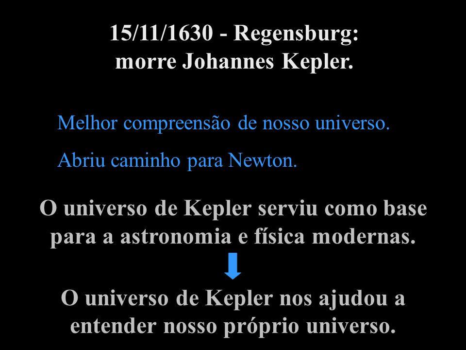 O universo de Kepler nos ajudou a entender nosso próprio universo.