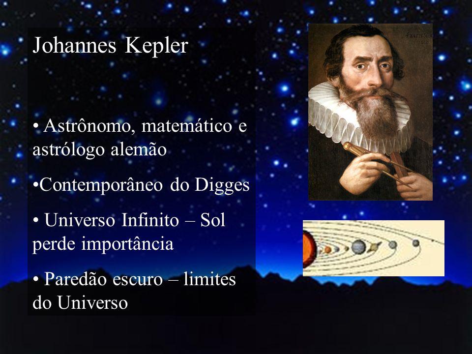 Johannes Kepler Astrônomo, matemático e astrólogo alemão
