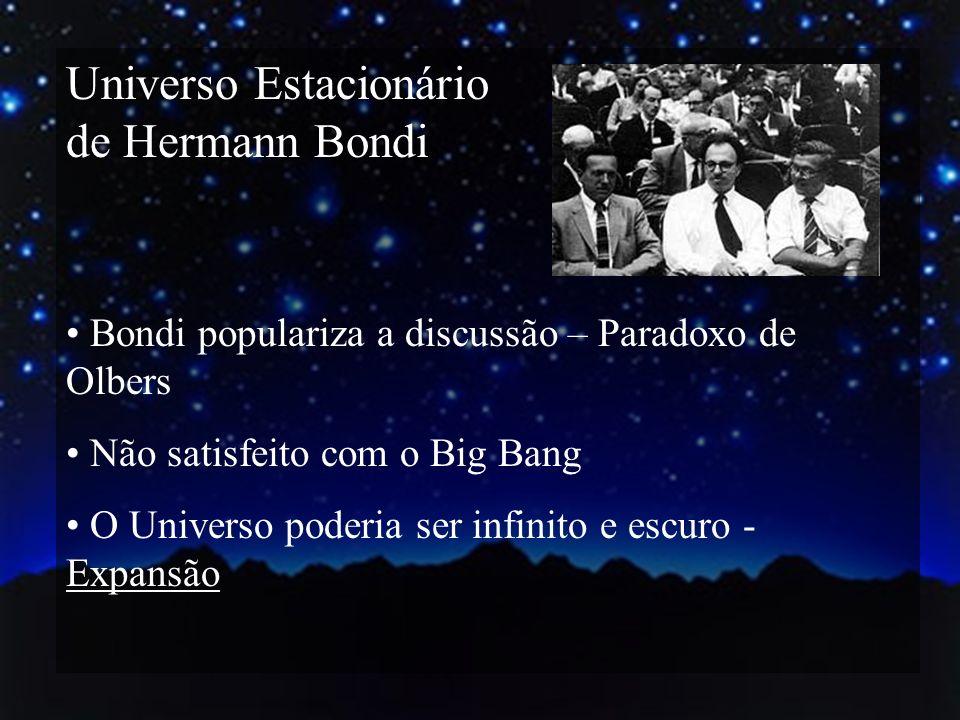 Universo Estacionário de Hermann Bondi