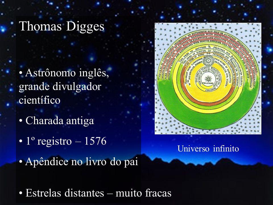 Thomas Digges Astrônomo inglês, grande divulgador científico