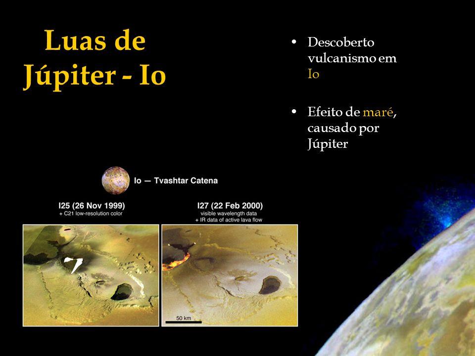 Luas de Júpiter - Io Descoberto vulcanismo em Io